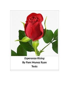 Esperanza Rising by Pam Munoz Ryan Tests