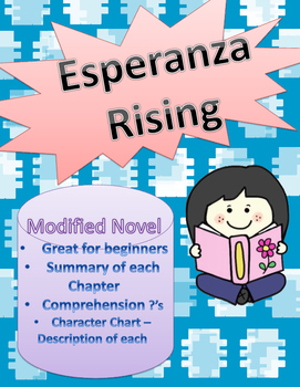 Esperanza Rising for Entering and Emerging ELLs