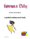 Esperanza Rising guided reading novel study