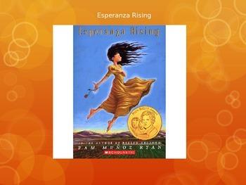 Esperanza Rising lesson 1