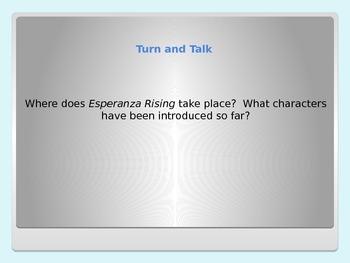 Esperanza Rising lesson 2