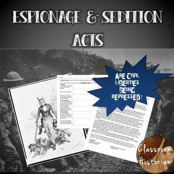 Espionage & Sedition Act