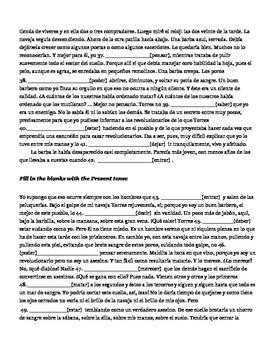 Espuma y nada más por Hernando Téllez (Group activity)