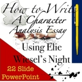 How to Write a Character Analysis Essay: High School Style