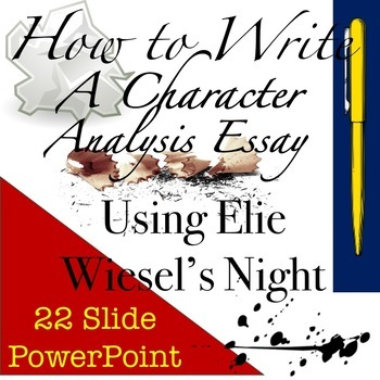 "analysis of night by elie wiesel Elie wiesel's night  analysis of wiesel's spiritual writings by a noted  ask at the reference desk to see the subject files labeled ""wiesel, elie,."