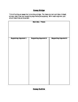 Essay Bridge and Outline