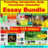 Essay Bundle: Prewriting, Introduction, Body Paragraph, Concession, Conclusion