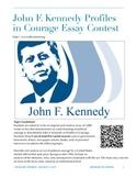 Essay Contest Handout - JFK Profiles in Courage