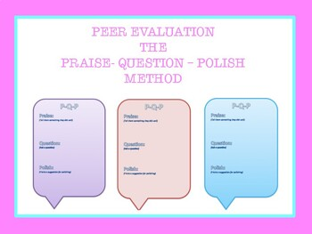 Essay Critiquing Tool: P-Q-P Method