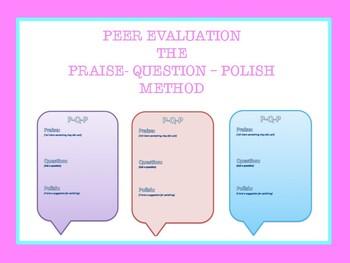 Essay Critiquing Tool: P-Q-P Method