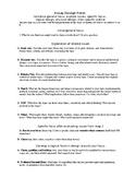 Essay-Design Form, Student Worksheet or Teacher Demo of argument invention