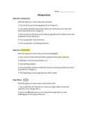 Essay Edit Checklist