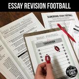 Essay Football: Revision GAME for Secondary ELA