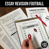 Essay Football: Revision GAME for Secondary ELA
