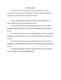 Essay Frame Template for Expository Writing - A fill-in-th
