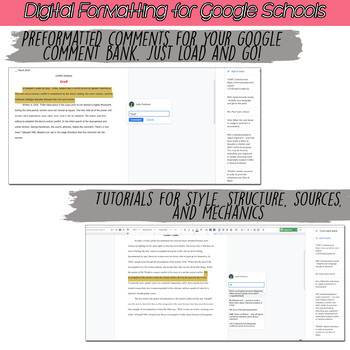 Essay Grading Annotations for Feedback, Printable and Digital