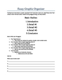 Essay Graphic Organizer: 5 Method
