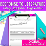 Literary Analysis Essay Graphic Organizer {EDITABLE}