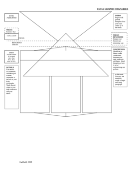 Essay Graphic Organizer with Prompts