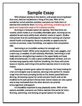 Essay Guide