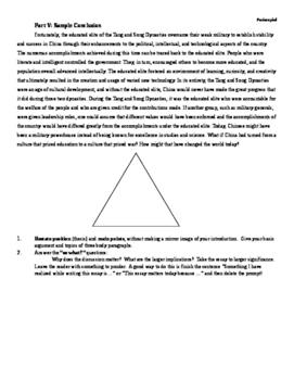 Essay Instructions Industrialization