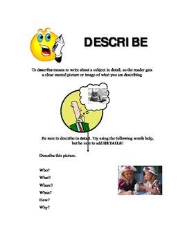 Essay Keyword - Describe
