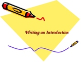 Essay Leads and Endings