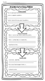 Essay Map for Special Education Students - Argumentative