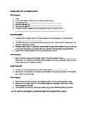 Essay Map for a Theme Essay