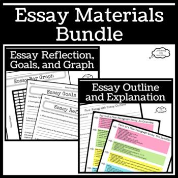 Essay Materials Bundle