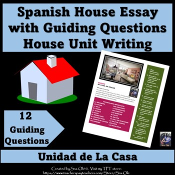 Essay- My home (For LOTE Spanish)