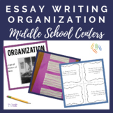 Essay ORGANIZATION Practice Centers for Middle School