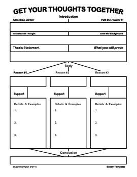 Essay Organizer 1