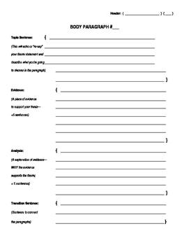 Essay Outline