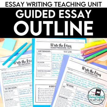 Essay Writing: Mastering the Essay Outline with Guided Instructions