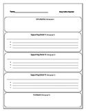 Essay Outline Organizer