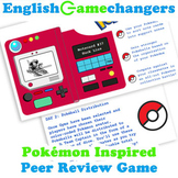 Self-Scaffolding Peer Review Game with Pokémon!