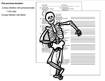 Essay Outline (Skeleton)