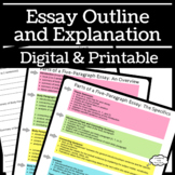 Essay Outline and Explanation