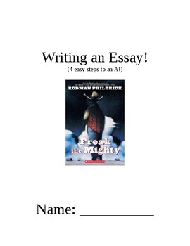 Example Thesis Statement Essay Essay Outline For Freak The Mighty Apa Sample Essay Paper also Cheap Essay Papers Essay Outline For Freak The Mighty By Amy Maziejka  Tpt Sample Of English Essay