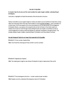 essay outline for the curious incident of the dog in the night time original  jpg english as a world language essay also english essay book essays about health