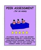 Essay Peer Assessment