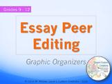 Essay Peer Editing Graphic Organizers