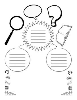 Essay Planner Graphic Organizer