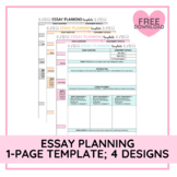 Essay Planning Template   Editable