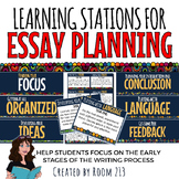 Essay Planning Learning Stations