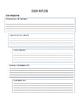 Essay Planning Outline