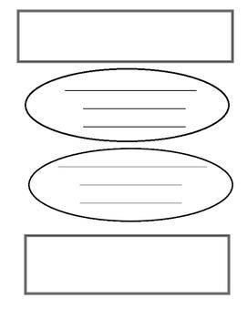 Essay Planning Page Graphic Organizer 4 Paragraph Essay