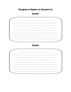 Essay Planning Sheet