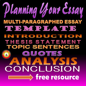 Essay Planning Template or Test Prep.